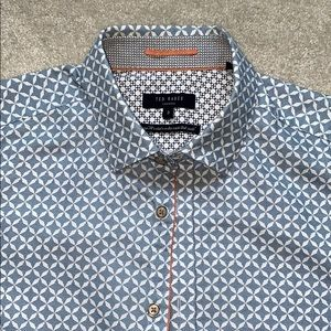 Ted Baker short sleeve button up